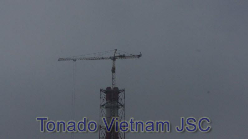 Thao do cau thap SCM C7050 nha may nhiet dien Nghi Son Thanh Hoa p1
