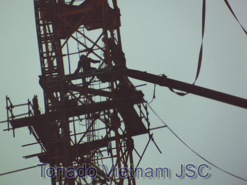 Thao do cau thap SCM C7050 nha may nhiet dien Nghi Son Thanh Hoa p7